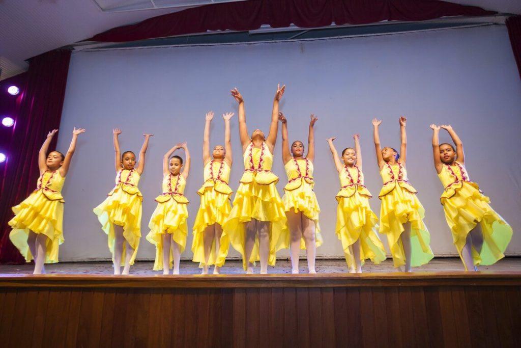 Apresentação de Ballet no I Festival Cultural da Casa do Saber (2015)