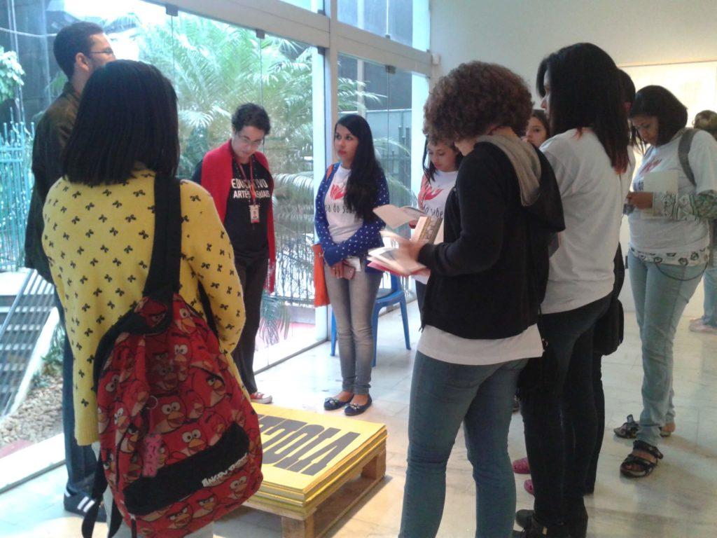 Excursão cultural - oficina Comunicação e Expressão (2015)